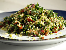 Tabbouleh  - Bildquelle: cyclonebill [CC BY-SA 2.0 (https://creativecommons.org/licenses/by-sa/2.0)]